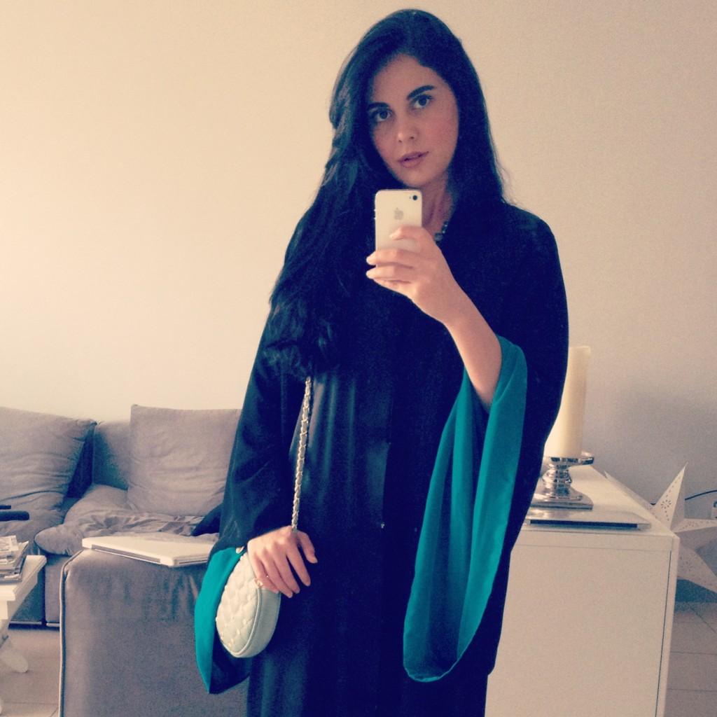 Tamaraah Al Gabbani Abaya Look Of The Day