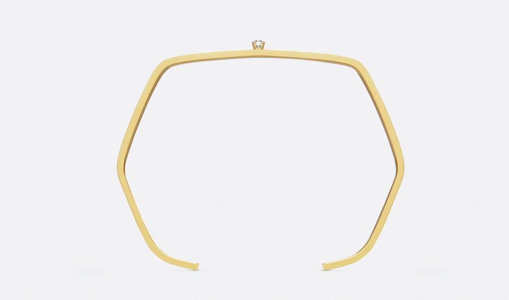 Saint Laurent diamond bracelets