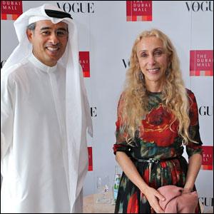 Mohammed Al Abbar And Franca Sozzani