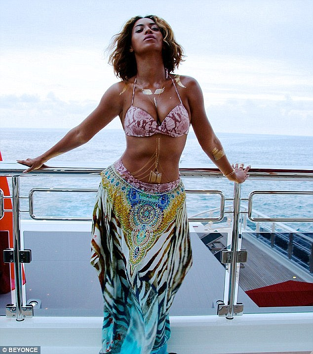 Beyonce Metallic Tattoo Jewellery