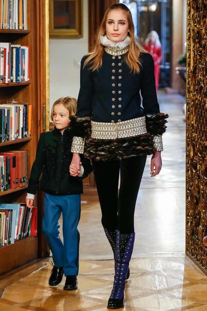 Hudson Kroenig for Chanel