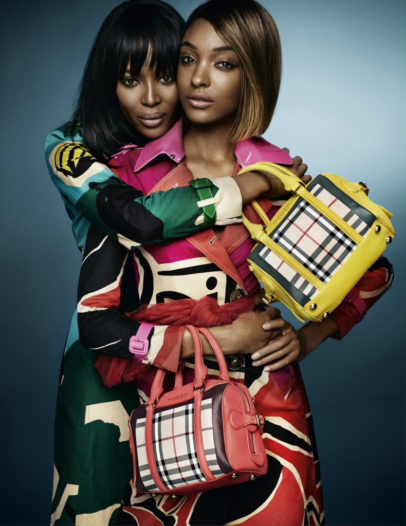 Naomi and Jourdan for Burberry Image 1