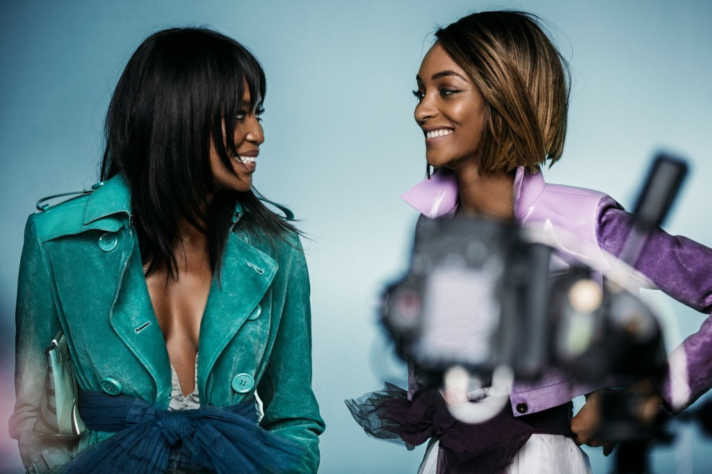 Naomi and Jourdan for Burberry Image 4