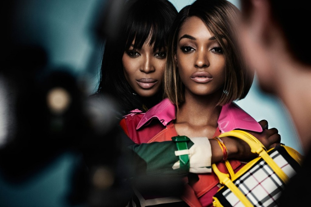 Naomi and Jourdan for Burberry Image 5