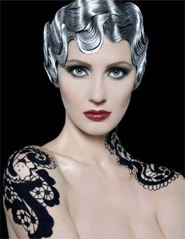 Silver Hair Paint