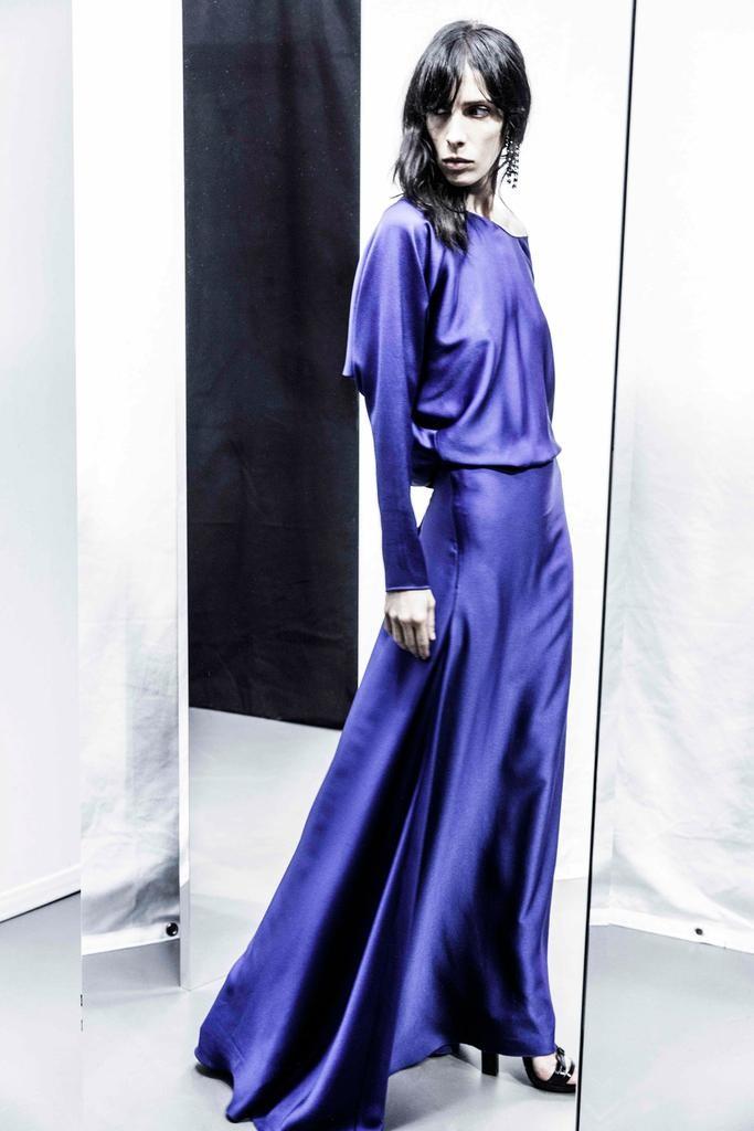 Lanvin Regal Blue Dress - Pre-Fall 2015