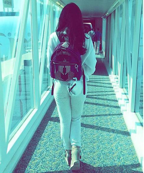 Fendi Karlito backpack & pompon