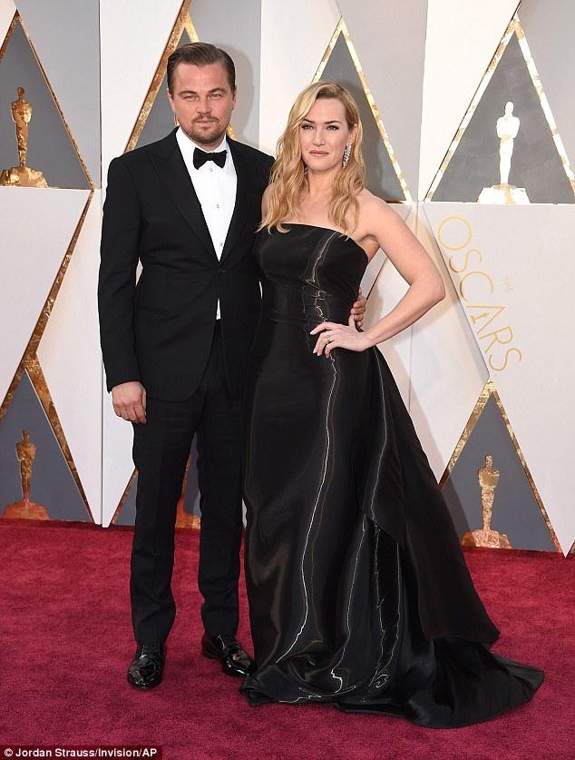 Leonardo DiCaprio - in Armani - Oscars 2016