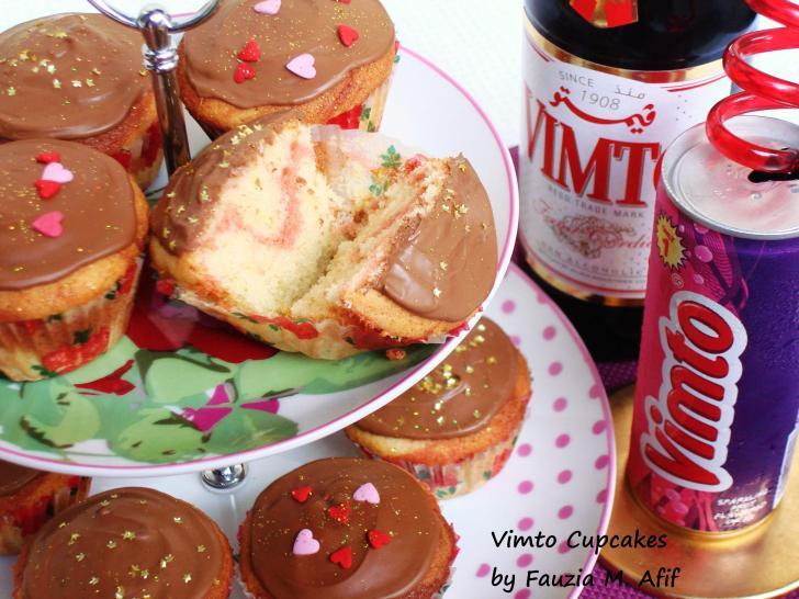 vimto cupcakes