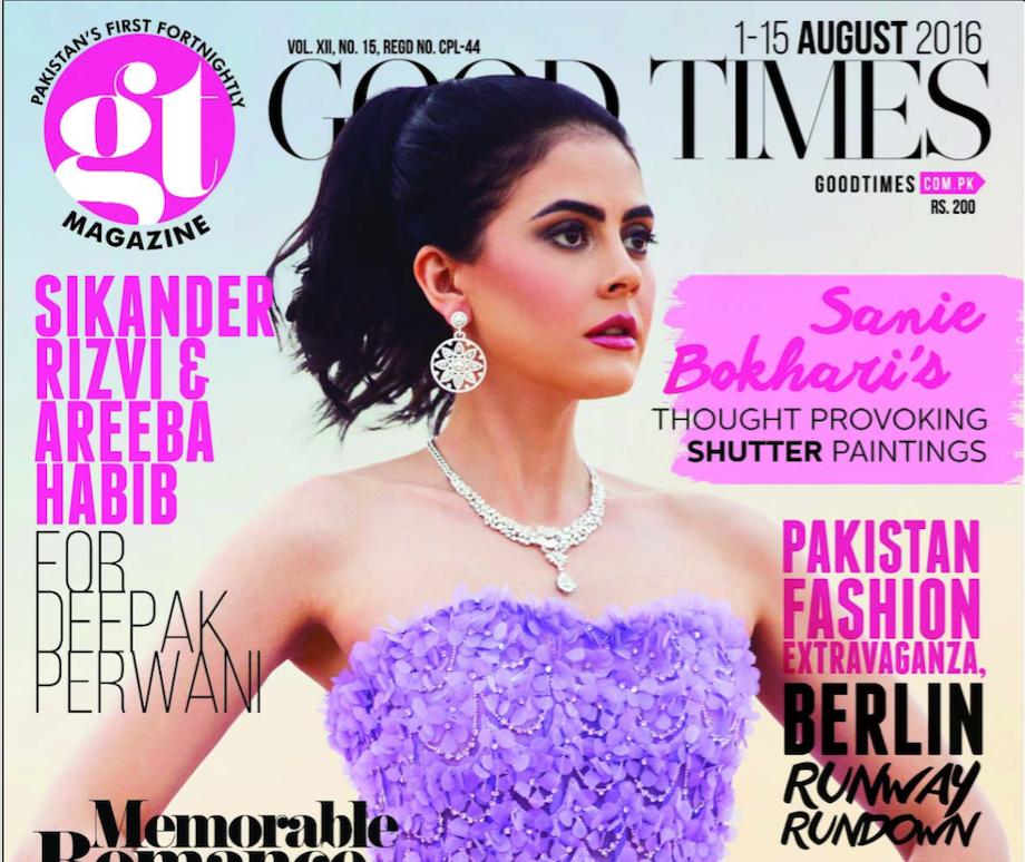 GOOD TIMES MAGAZINE 1 - Tamara Al Gabbani