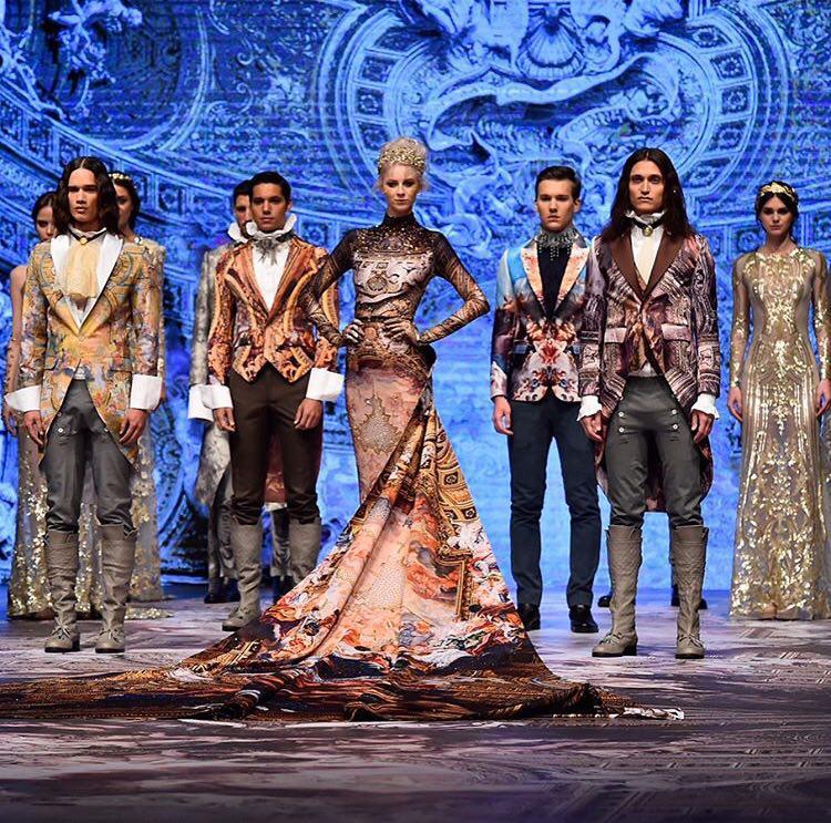 Michael Cinco Fall 2017 Fashion Forward Dubai