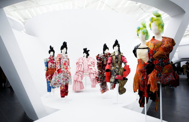 Rei Kawakubo designs at the Costume Institute, Metropolitan Museum of Art - New York